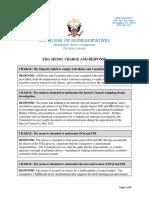 HPSCI FISA Memo Release - Charge and Response