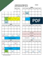 Calendari Cuatrimestral Posgrado 172