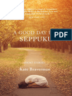 "Table of Contents and First Short Story of ""A Good Day for Seppuku"""