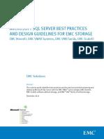 h14621 Microsoft SQL Server Best Practice