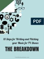10StepsWritingPitchingyourMusicforTVShows