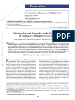 Inflammation and Immunity in the Pathogenesis of Pulmonary Arterial Hypertension