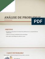 Análise de Problemas_apresentação