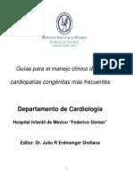 Guía para el manejo de cardiopatías congénitas más frecuentes
