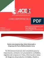 Acex _importacion