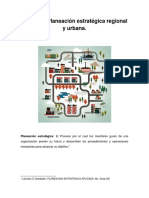 Unidad II Planeación Estratégica Regional y Urbana