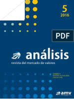 Analisis Revista Del Mercado de Valores No. 5 Edicion Jul de 2016