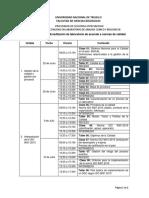 Cntenido Curso Certificacion y Acreditacion Diplomado Trujillo 2016