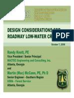 Design Considerations Knott