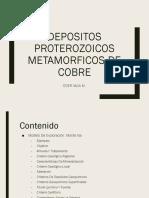 Depositos Proterozoicos Metamorficos de Cobre