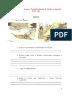 Teste de Preparação Para a Prova Globalizante de História e Geografia de Portugal