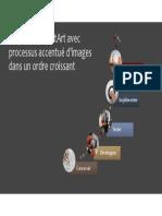 Graphique SmartArt Avec Processus Accentué d'Images Dans Un
