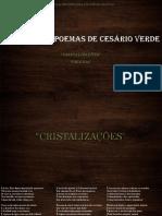 Análise Poemas Cesário Verde