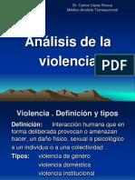 Tipos de Violencia