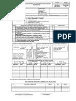 Formato de PTAR Para Espacios Confinados