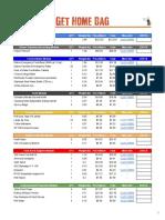 Get Home Bag PDF Checklist