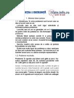 Mate.info.Ro.4170 Metoda Falsei Ipoteze - Centrul de Excelenta Bucuresti