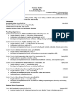 thomas hurley resume