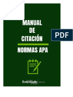 Normas Apa - Citación Documentos