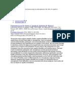 Teoría de La Mente y Procesamiento Contextual - Rol de La Flexibilidad Cognitiva