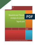Manual Del Curso Dirección Estratégica de Proyectos Parte 2(1)