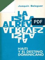 La Isla Al Revés - Joaquín Balaguer