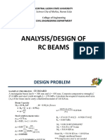 Singly Reinforced RC Beams