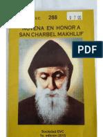 Novena San Charbel
