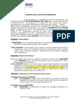 Contrato de Locación de Servicios Marcimex - Tendencias y Actitudes
