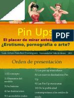 Pin Ups, el placer de mirar antes y ahora ¿Erotismo, porografía o arte?