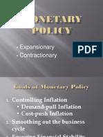Monetary Policy Beybe