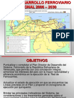 Plan Ferroviario Nacional 2006 2030 Act250406
