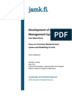 Development of Material Management System_Anton Saukkonen