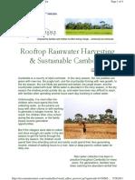 2010-05 Rooftop Rainwater