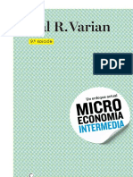 Microeconomía Intermedia. Hal R. Varian