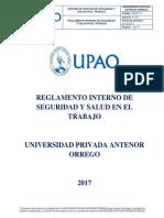 Reglamento Interno de Seguridad y Salud en el Trabajo 2017.pdf