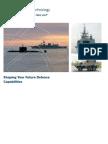 Shaping Defence Capablities - BMT fleet Tech