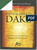 Finis Jennings Dake - Manual Bíblico Dake