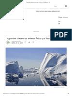 5 Grandes Diferencias Entre El Ártico y El Antártico - VIX