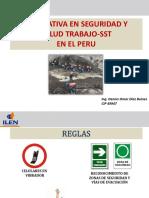 NORMATIVA LEGAL - SEGURIDAD  SALUD EN EL TRABAJO
