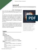 Relatividad General - Wikipedia