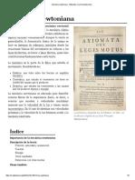 Mecánica Newtoniana - Wikipedia