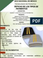 Características de Los Tipos de Pavimentos