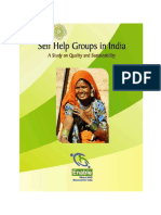 Self Help Groups in India - A Study on Quality and Sustainability