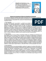 Constitucion de Guatemala y principales derechos de ciudadanos