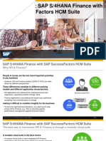 SAP S/4HANA Finance with SAP Successfactors HCM Suite