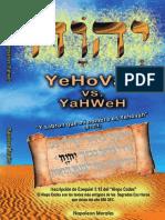 Yehovah vs Yahweh Final