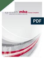 Folleto MBA Tiempo Completo 2010 II de ESAN