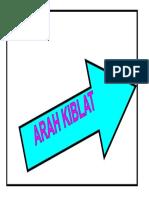 Arah Kiblat