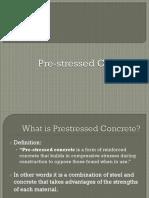 Prestressed Concrete PPT